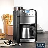 BEEM Fresh-Aroma-Perfect Thermolux, Kaffeemaschine mit Mahlwerk, Isolierkanne und Permanent-Goldfilter, Edelstahl - 8