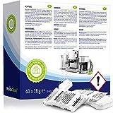 WoldoClean 50x Entkalker-Tabletten Entkalkertabs für Kaffeevollautomaten Kaffeemaschinen und Wasserkocher Entkalkungstabletten - 7