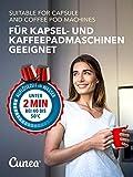 Cunea 20x Entkalker-Tabletten Entkalkertabs Entkalkungstabletten für Kaffeevollautomaten Kaffeemaschinen und Wasserkocher Vollautomat - 7