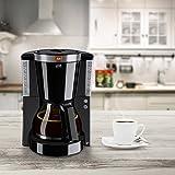 Melitta 1011-04, Filterkaffeemaschine mit Glaskanne, AromaSelector, schwarz Kaffeemaschine LOOK IV SELECTION, Kunststoff, 1.2 liters - 8