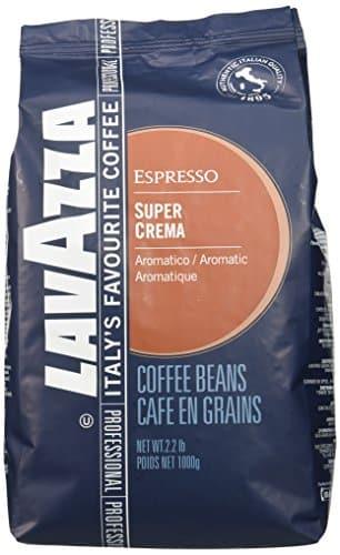 2 x lavazza kaffee espresso super crema ganze bohnen 1000g. Black Bedroom Furniture Sets. Home Design Ideas