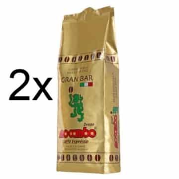 2x Mocambo Gran Bar 2x1kg Bohne -
