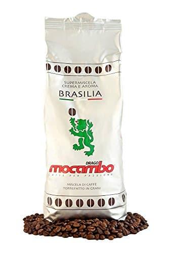 6x 1 kg mocambo Kaffee Espresso BRASILIA, Caffe Bohnen | hv-store -