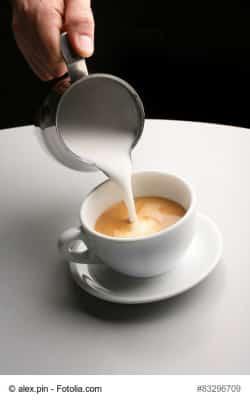 Milchkaffee machen