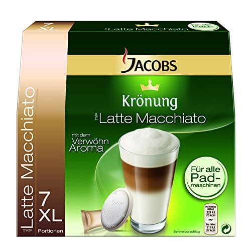 Tassen Jacobs Krönung : Jacobs kr?nung quot latte macchiato pads kaffee und