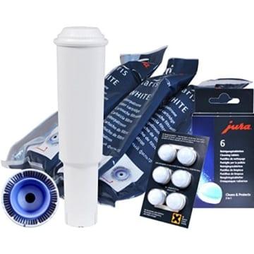 Jura Claris White Filterpatrone Kombi-Pack 3er Claris White mit 6 Reinigungstabletten -