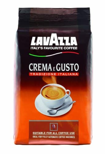 lavazza crema e gusto tradizione italiana bohne 1er pack 1 x 1 kg. Black Bedroom Furniture Sets. Home Design Ideas