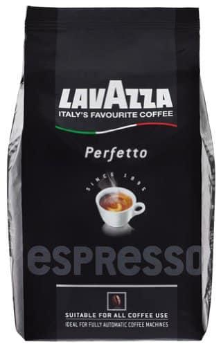 Lavazza Espresso Perfetto, Ganze Bohne – 1kg – 2x -
