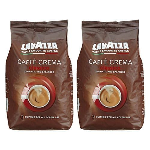 lavazza kaffee caff crema classico ganze bohnen bohnenkaffee 2 x 1kg packung. Black Bedroom Furniture Sets. Home Design Ideas