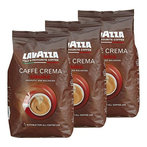 lavazza kaffee caff crema classico ganze bohnen bohnenkaffee 3 x 1kg packung. Black Bedroom Furniture Sets. Home Design Ideas