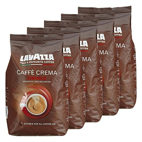 lavazza kaffee caff crema classico ganze bohnen bohnenkaffee 5 x 1kg packung. Black Bedroom Furniture Sets. Home Design Ideas