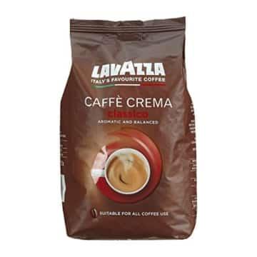 Lavazza Kaffee Caffè Crema Classico, ganze Bohnen, Bohnenkaffee (6 x 1kg Packung) -