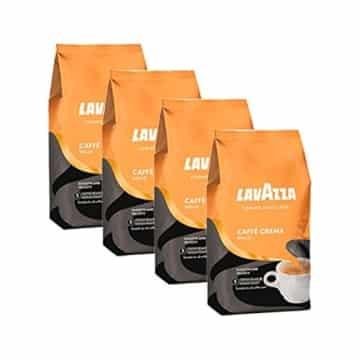 lavazza kaffee caff crema dolce ganze bohnen bohnenkaffee 4 x 1kg packung. Black Bedroom Furniture Sets. Home Design Ideas