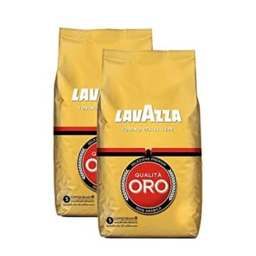 lavazza kaffee qualita oro ganze bohnen bohnenkaffee 2er pack 2 x 1000g. Black Bedroom Furniture Sets. Home Design Ideas