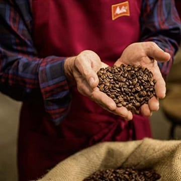 Melitta Ganze Kaffeebohnen, 100 % Arabica, vollmundig und ausgewogen, mittlerer Röstgrad, Stärke 3, BellaCrema la Crema, 1000g -