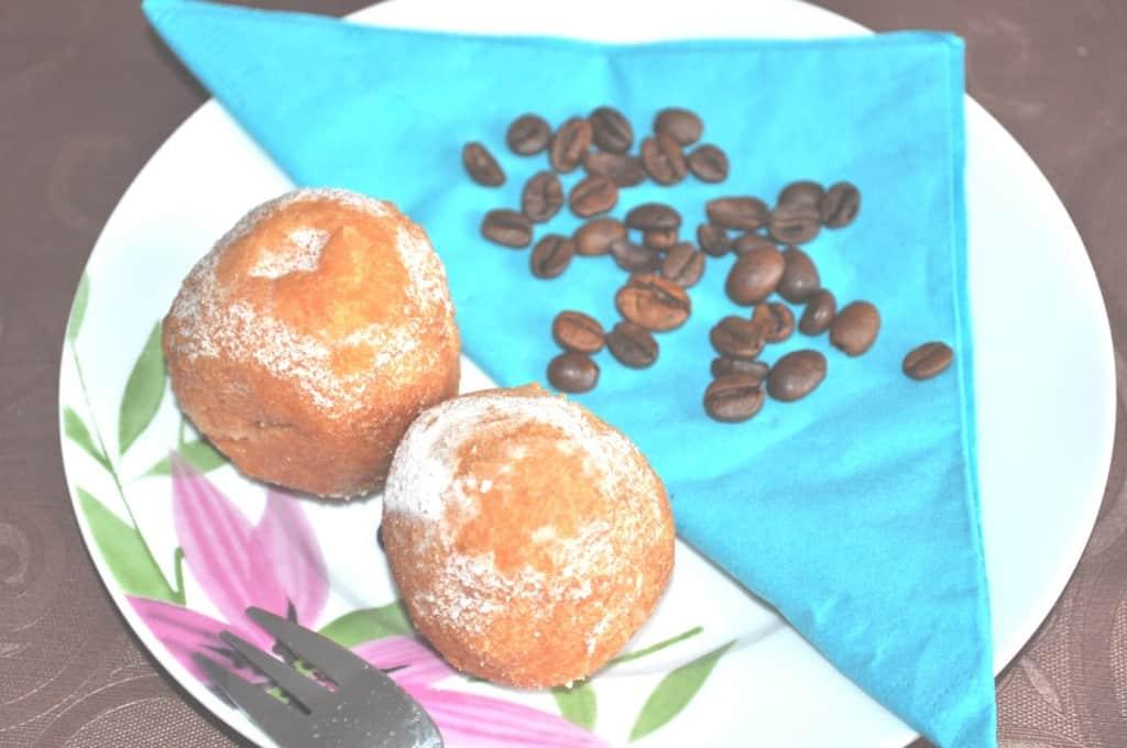 Quarkbällchen mit Kaffee? Bitteschön :)